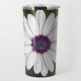 Flower Portriat - Purple Power Travel Mug