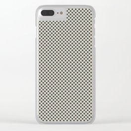 PPG Glidden Trending Colors of 2019 Night Watch PPG1145-7 Polka Dots on Sourdough Beige PPG1084-3 Clear iPhone Case