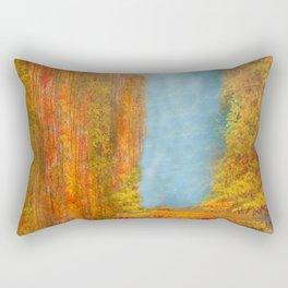 Colorful Woodlands Rectangular Pillow