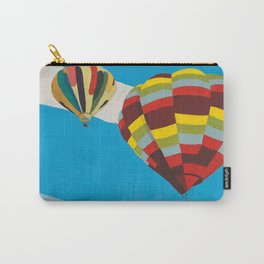 Three Hot Air Balloons Carry-All Pouch