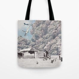 Bombing Tote Bag