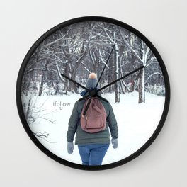 love forest Wall Clock