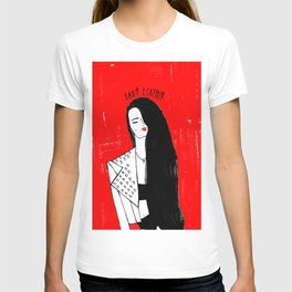 'LADY LEATHER' T-shirt