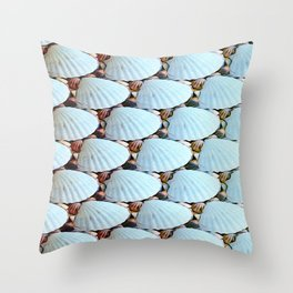 Seashells Pattern Throw Pillow