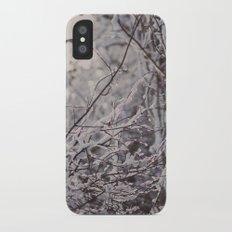 winter snow Slim Case iPhone X
