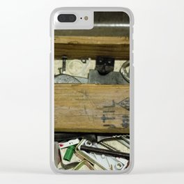 Tool Man Clear iPhone Case