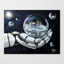 Creating Tomorrow Canvas Print