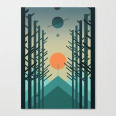 Alignment Canvas Print
