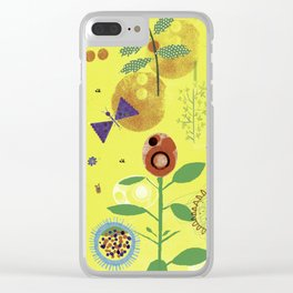 In a summer Garden Clear iPhone Case