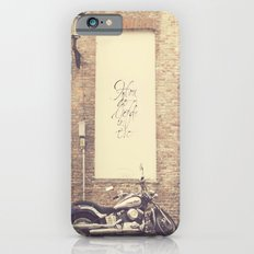 Keep the love alive iPhone 6s Slim Case