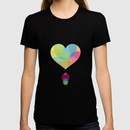 COLORS OF A HEART T-shirt