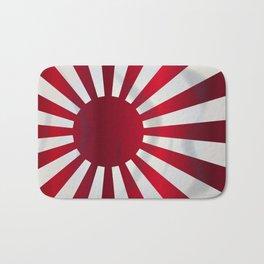 Japanese Rising Sun Flag Bath Mat