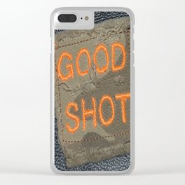 Good Shooting Clear iPhone Case