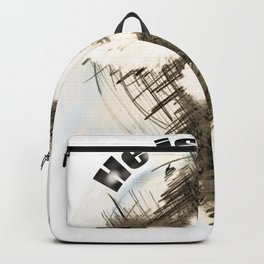 The Cross of Jesus Risen Backpack