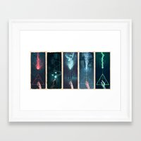 potter Framed Art Prints featuring Potter Series by hobbs