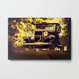 Vintage italian car Metal Print