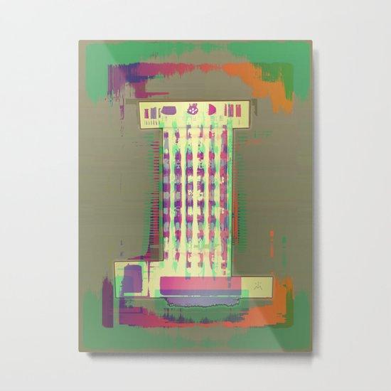 ROOK White Metal Print