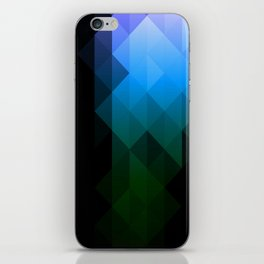 Blue Delight iPhone Skin