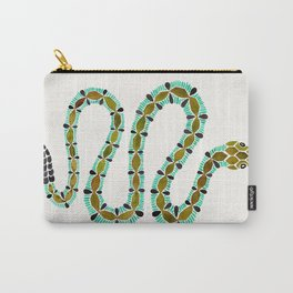 Turquoise Serpent Carry-All Pouch