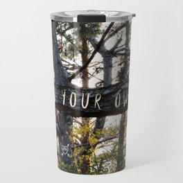 Grow Your Own Way Travel Mug