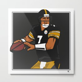 Big Ben - Steelers QB Metal Print