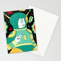 Space Babe Stationery Cards