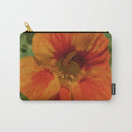 Glorious Nasturtium Carry-All Pouch