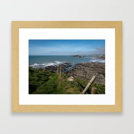 Burgh Island & Bantham Beach Framed Art Print