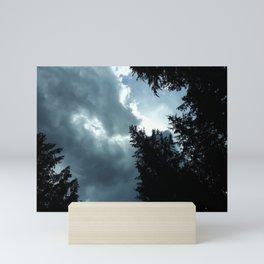 Cloud watching Mini Art Print