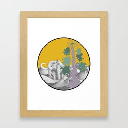 woolly out of ciutadella Framed Art Print