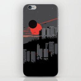 apocalypse city iPhone Skin