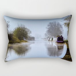 Winter Clayworth Morning II Rectangular Pillow