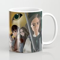narnia Mugs featuring Narnia by BellaG studio