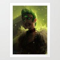 acid Art Prints featuring Acid by pearlie