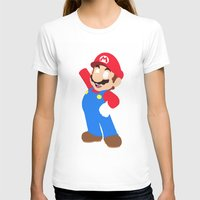 super mario T-shirts featuring Super Mario by Valiant