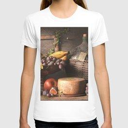 Fruit Still Life Watercolor T-shirt