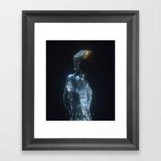 170218 / isolation Framed Art Print