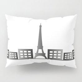 paris skyline Pillow Sham