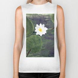 water lilies 2 Biker Tank