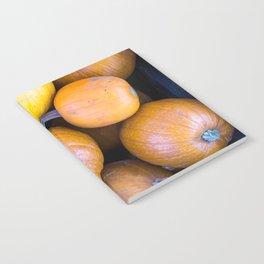 Pile of pumpkins Notebook