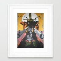 spawn Framed Art Prints featuring Spawn  by Diablues Hands