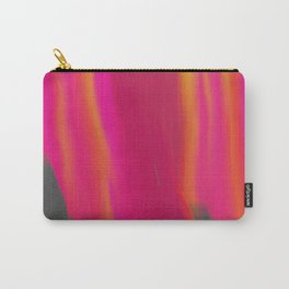 Vibrant Melted Pink Carry-All Pouch