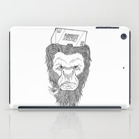 bigfoot iPad Cases featuring Bigfoot  by Observer