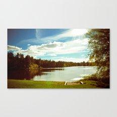 Bright sunny day Canvas Print