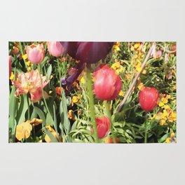 Flower Schadows Rug