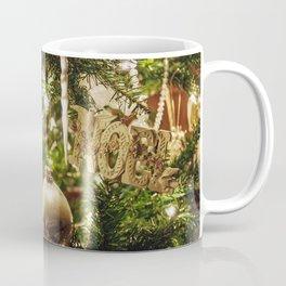 Golden Noel Coffee Mug