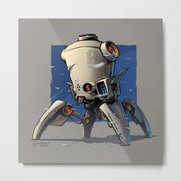 Robo 01 Metal Print