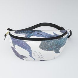Whale Shark Pattern Party Fanny Pack