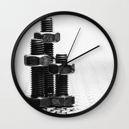 Nuts 'n Bolts. Wall Clock