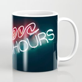 Open 24h Neon Sign Coffee Mug
